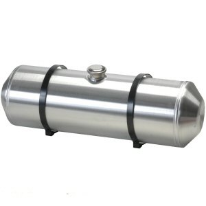 10 Inches X 24 - Spun Aluminum Fuel Tank Center Fill 8.0 Gallons