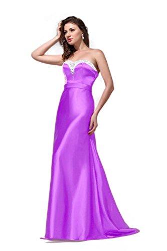Queen Violett Linie Hot Damen Kleid Violett A BwxwqO7nd