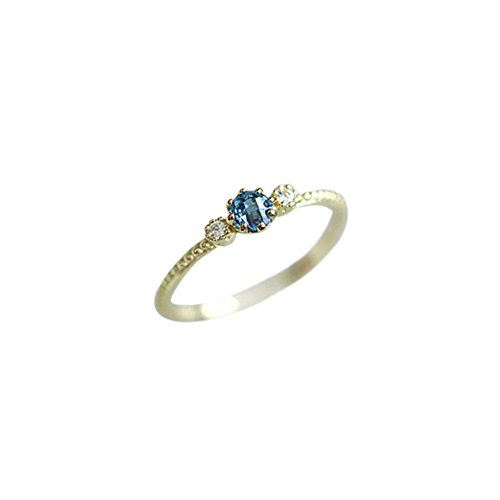 Haluoo Promise Diamond Rings for Her, Women Dainty Navy Blue Diamond Engagement Ring Exquisite Diamond Gold Proposal Wedding Ring Fine Halo Ring Valentines Aniversary Birthday Gifts for Her (6)