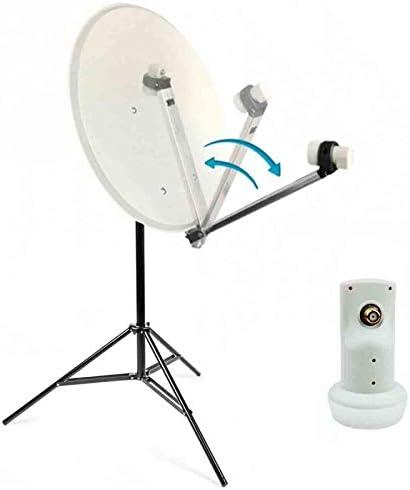 Kit Camping Antena Parabólica 60 cm + Trípode parabólica ...