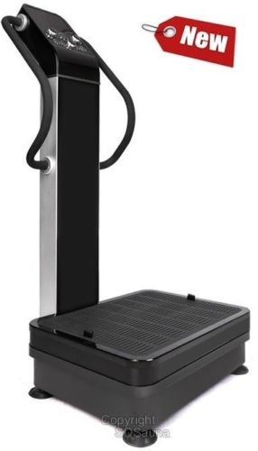 Professional Dual Motor 1500W Full Body Vibration Plate Exercise Fitness Machine by WP Fitness