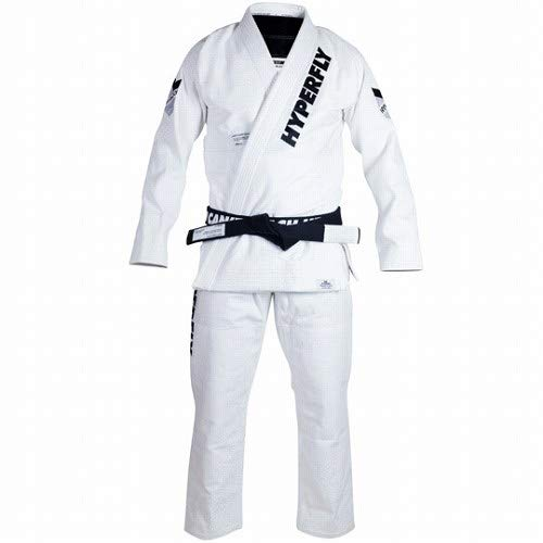 HYPERFLY 柔術衣 JudoFly X Athlete's Edition 白 B07KM6PMNH A2