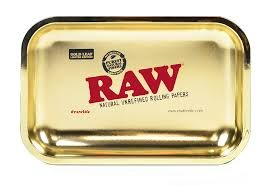 RAW 24kt Gold Plated 10 Year Anniversary Rolling Tray - (Limited Edition) by RAW (Image #1)