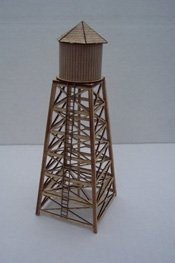 Osborn Models N Scale CLASSIC WATER TOWER City or Rural EZ Assembly Kit New #RRA3066 ()