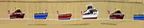 (Antique Boats Ships Background, 1