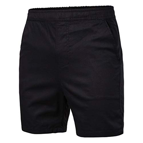 Madras Bermuda - LUCAMORE Men's Board Shorts Casual Solid Beach Men Short Trouser Shorts Pants with Pockets