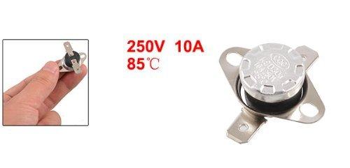 DealMux Temperatura Controlada TERMÓSTATO KSD301 NC 85 Celsius: Amazon.com: Industrial & Scientific