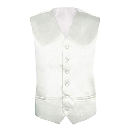 Business Hommes Loisirs De Sans Costume Size Gilet Slim Formel Manches M Jacket Pour Blanco color Fit vUXwxtn