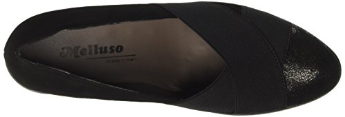 Starter para R45000 Melluso nero Nero Mujer Negro Mocasines HY7xfTwqC
