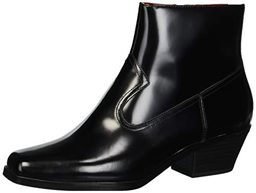 Calvin Klein Women's SADI Ankle Boot, Black, 7 M US