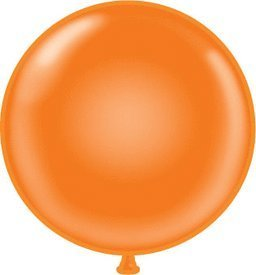 Giant 60 Inch Orange Water Balloon by (Orange Water Balloons)