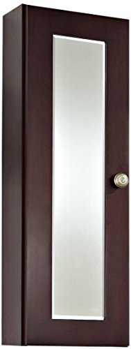 American Imaginations 336 12-Inch by 36-Inch Cherry Wood Reversible Door Medicine Cabinet, Coffee Finish by American Imaginations