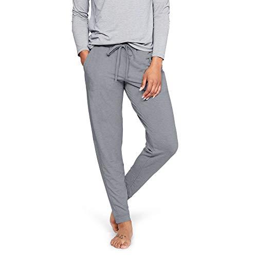 - Under Armour Women's Recovery Sleepwear Jogger, Steel Fade Heather (035)/Tonal, Small