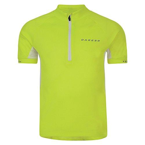 6c3d41b87 Amazon.com  Dare 2b Childrens Kids Protege II Short Sleeve Half Zip Cycling  Jersey  Clothing
