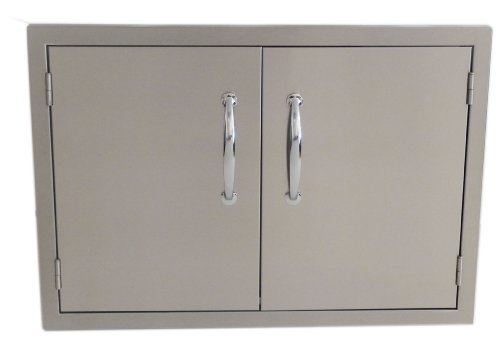Sunstone B-DD42 Double Raised Doors for Stone Island with Shelves, 42-Inch by SUNSTONE