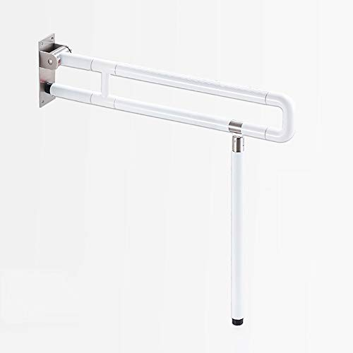 (Bathroom handrails for elderly Bathroom Grab Bar for Stability, Safety Handle and Rail for Lavatory, 60/75cm. Long Safety Support Rail – Drops Down & Folds Up handrails for bathrooms ( Size : 750mm ))
