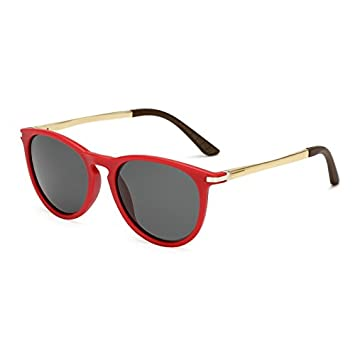 TL-Sunglasses Mujeres Mujeres de Terciopelo Color Gafas de Sol polarizadas Atrás Ojo de Gato