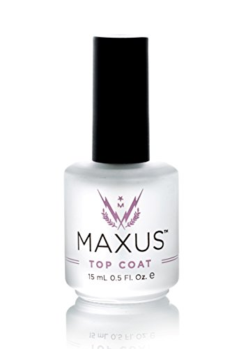 Coat Ultra Top Shine (Maxus Nails Top Coat Nail Polish, High Shine, Super Fast Dry, Nail Treatment - Clear - 0.5 Ounce)
