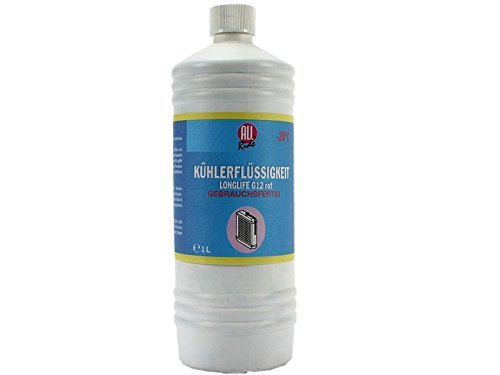 All Ride Kü hlerfrostschutz G12 rot, LongLife 1L -26°