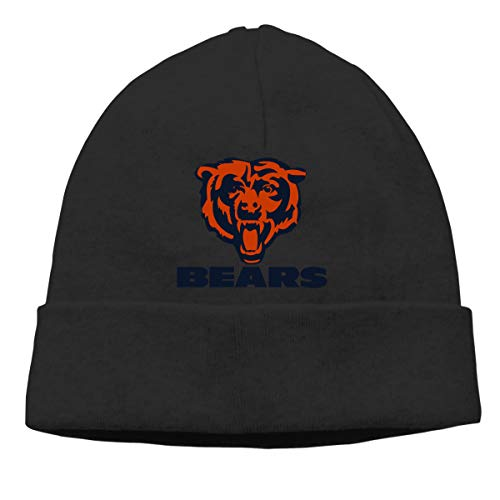 Jeffredy Chicago Bears American Football Team Knitted Cap Limited Edition Beanie Hat for Men and ()