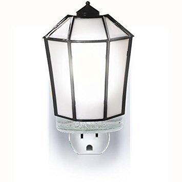 Yankee Candle Black Lantern - Night Light Scent-Plug Air Freshener Base