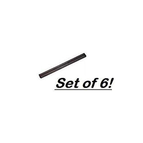 Magnetic Bar, 24'', Plastic Base, Set of 6