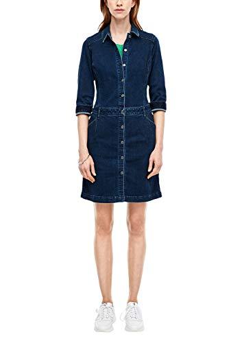 s.Oliver RED Label Damen Kleid aus Denim