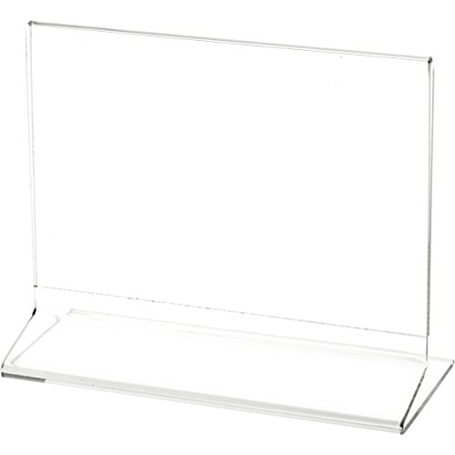 Postcard Holders Sleeves - Plymor Brand Clear Acrylic Sign Display/Literature Holder (Side-Load), 7