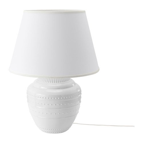 Amazon.com: IKEA lámpara de mesa, color blanco tamaño 23 ...