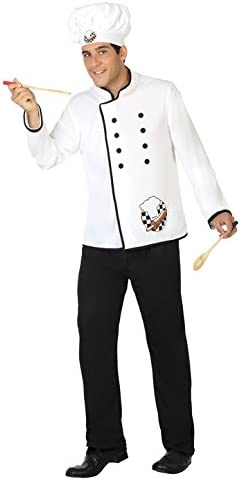 Atosa- Disfraz hombre cocinero, XL (15834): Amazon.es: Juguetes y ...