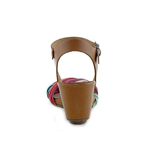 LUNE ET L AUTRE Women's Clogs & Mules Multicolored faEHBDRu