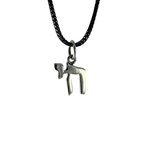 apop nyc 925 Sterling Silver Chai Symbol Pendant Only