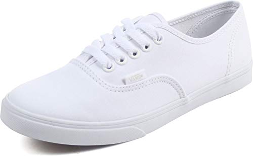 Vans Mens Authentic Lo Pro True White Skateboarding Shoe VN000GYQW00 (US 7)