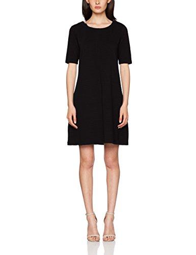 black noos Vicaro shape Negro Mujer Vestido Vila Black Para Dress A Jersey X4Odqqwpxv