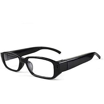 cddc5eb53a Mengshen mini gafas HD 1280 × 720p espía cámara ocultada Eyewear Cam DVR  videocámara DV videocámara MS-HC14