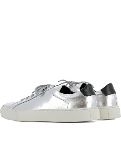 Argenté pour Femme Baskets Größe Silber COMMON It PROJECTS Marke nEqpU66I