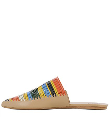 Tory Leather 47126260 Sandals Multicolor Burch Women's aw6gqra