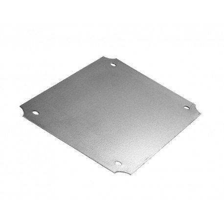 28-25//64 Length x 20-1//2 Width x 3//64 Thick for NEMA Box BUD Industries NBX-10992 Steel Internal Panel