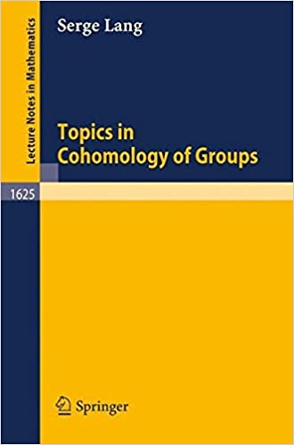 Topics in Cohomology of Groups (Lecture Notes in