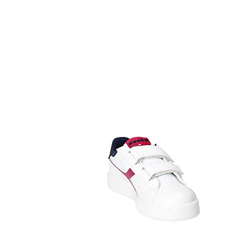 Diadora 101.172336 C7039 Zapatillas De Deporte Chica Blanco/Violeta