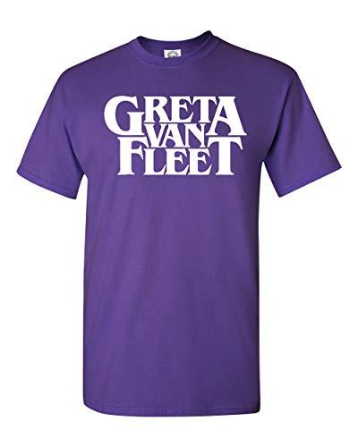 Greta Van Fleet T-Shirt (Purple, 3XL)