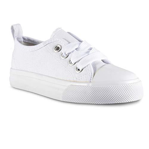 ZOOGS Kid's Fashion Sneakers,White,11 M US Little Kid