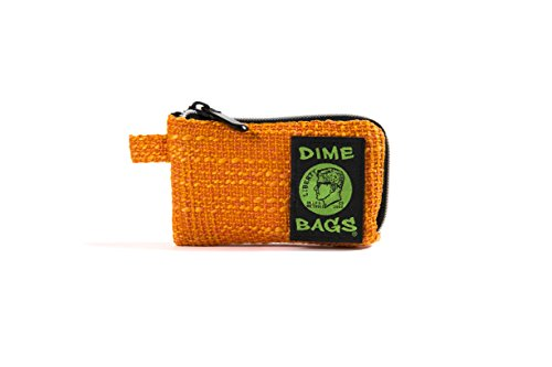 Padded Pipe - Padded Pouch - Soft Interior with Secure Heavy-Duty Zipper (5-Inch) (Orange)