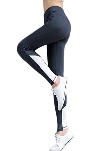 Girls Junior Womens Mesh Panel Insert Compression Tights Active Stretch Fitness Yoga Pants Leggings