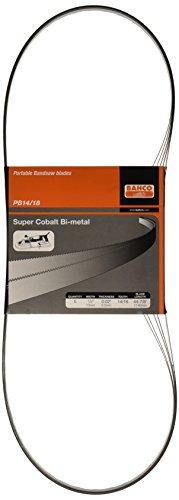 Bahco PB13-0.5-14/18-1140-5P Portable Bandsaw Blade (5 Pack) - 1/2X020X14/18X44 7/8