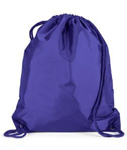 Liberty Bags Large Drawstring Cinch Pack (OS / PURPLE)