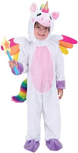 Spooktacular Creations Unicorn Costume Deluxe Set for Kids Halloween Animal Dress Up Party, Role Play and Cosplay