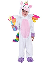 Unicorn Costume Deluxe Set for Kids Halloween Animal Dress Up Party, Role Play and Cosplay