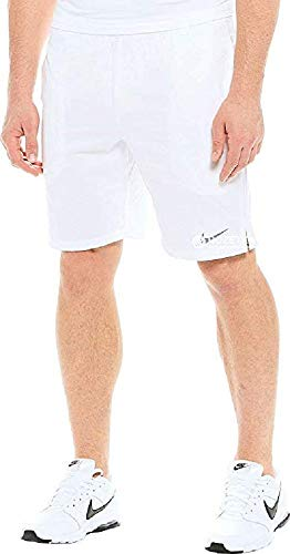 Nike Court 9'' Shorts (White/Cool Grey, X-Small) by Nike (Image #2)