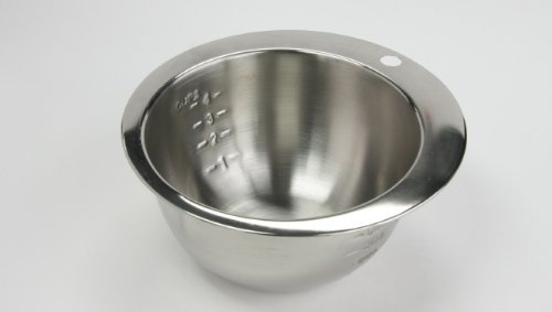Bargain 1 Quart Stainless Steel Measurer/Mixing Bowl reviews